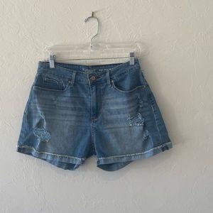 Levi's high rise signature shorts size 10 waist 30